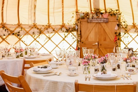 Yurt hire wedding catering yorkshire venues junglespirit Image collections